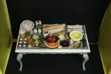 DOLLS HOUSE ( Handcrafted Kitchen Laden Table
