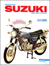 GT185 SUZUKI SHOP MANUAL SERVICE REPAIR BOOK GT 185 MOTORCYCLE