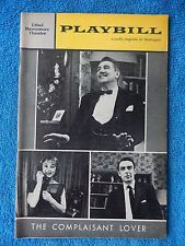 The Complaisant Lover - Ethel Barrymore Playbill - Opening Nite - Nov. 1st, 1961