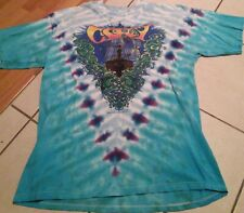 Vintage 2000 Crosby Stills Nash Young Shirt Tie Dye CSNY Biffle Tour Grateful De