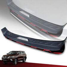 Rear Tailgate Bumper Black For Toyota Fortuner SUV SW4 2015 16 17 18