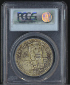 Canada 1858-1958 $1 One Dollar British Columbia PCGS Graded MS65