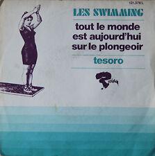 """Vinyle 45T Les Swimming """"Tout le monde est aujourd'hui sur le plongeoir"""""""