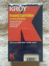 Kroy Supply Cartridge 240 Series # 2227590 Photoclip Sealed Retail Plastic READ!
