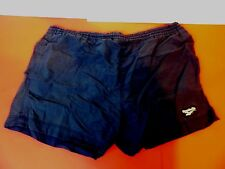 Reebok Swimsuit Men Large Trunks Shorts Navy Blue Sport Swimwear Swim Pants