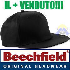 Cappellino NERO Rapper UOMO Cappello RAP Snap back Hip-Hop PIATTO Visiera DONNA