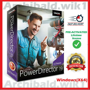 CyberLink PowerDirector 19 Ultimate ?Full Version Activated For Windows?Lifetime