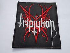 TRIPTYKON BLACK/DEATH METAL EMBROIDERED PATCH