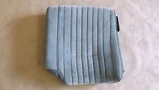 87-92 GTA Light Gray Cloth Rear Upper Seat Back LH  0617-4