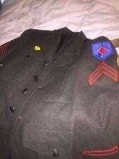 WW2, USMC, 1st Marine Amphibious Corps Wool Uniform, Pacific, Named