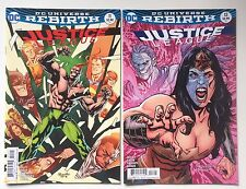 Justice League #11 & #13 Variant Covers - DC Rebirth - VF/NM - First Printings