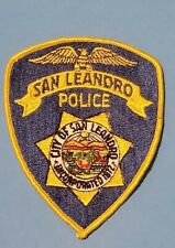 San Leandro California Police Patch