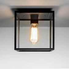 Astro 7389 Box Outdoor Ceiling Light Black