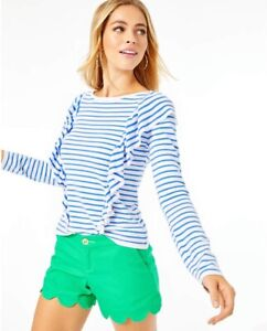 NWT Lilly Pulitzer Ruth Sweater Beach Stripe Size SMALL