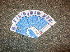 50 NOS Mopar Dodge Chrysler Plymouth Oil Change Tag Stickers