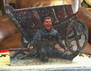 """Vikings (Ivar The Boneless) TV Series Figure Tabletop Display Standee 9 1/2"""" Tal"""