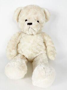"BROOKSTONE NAP teddy Bear 24"" tall ivory Cuddle Teddy Plush Stuffed Animal"