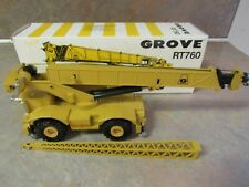 NZG GROVE RT760 MOBILE CRANE 1:50 SCALE