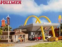 Vollmer H0 43635 McDonald´s Schnellrestaurant mit McCafé - NEU + OVP