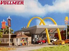 Vollmer H0 43635 MCDONALD'S ´S RESTAURANTE de comida rápida con mccafé - NUEVO +