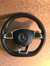 Mercedes Benz Multifunction Steering wheel airbag Shift paddles AMG C Class W205