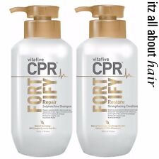 Vita 5 Vitafive CPR Fortify Shampoo, Conditioner 900ml Duo