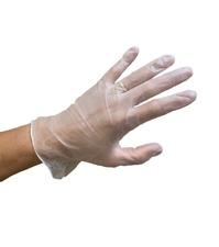 100 PCS Vinyl Gloves Clear Powder Free NON Latex Examination Glove S M L XL