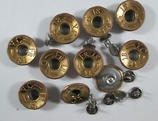 Jeans Knopf 10 stück mit Niete  bronze      knöpfe 18 mm #645#