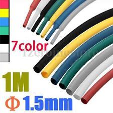 Polyolefin Heat Shrink Heatshrink Tubing Tube Sleeve Sleeving Wrap Pack Colours