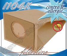 I104K 8 sacchetti filtro carta x Imetec Scopa Magica 900w