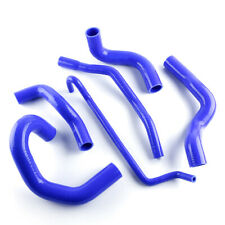 For 05-10 Ford Mustang GT/SHELBY V8 MT Silicone Radiator Hose Temp Pipe Blue