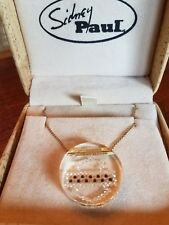 #397 NWT Harley-Davidson Sidney Paul necklace, 14K yellow gold