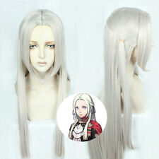 Fire Emblem Three Houses Edelgard von fresberg Wig Hair Cosplay Wig+Hairnet