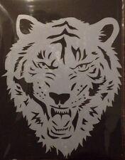 Tiger Head Mylar reusable Mylar stencil  for Airbrush design art tattoo