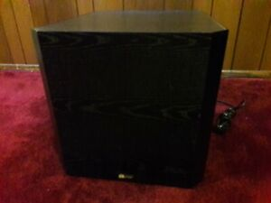 PARADIGM PS-1000 Powered Amplifier Driven Subwoofer BOMB BASS!!