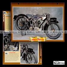 #122.08 Fiche Moto SAROLEA 350 SPORT 25 H 1925-1931 Motorcycle Card