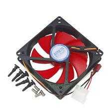 100mm & 90mm x25mm Dual Mounting Holes Fan for PC Case CPU Raduatir Cooler