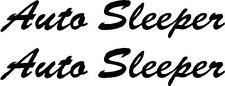 AUTO SLEEPER MOTORHOME STICKERS CHOICE OF COLOURS CAN BE MADE ANY IN SIZE *1