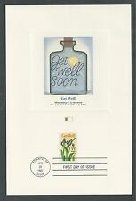 # 2268 GET WELL SOON SPECIAL OCCASIONS MESSAGE '87 Fleetwood First Day Proofcard