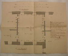 Angers. ENCIMERA hecho a mano de la Salón Palacio Prefectura d. 1815