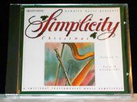 Simplicity Christmas Volume 4 Harp & Woodwinds cd NEW! instrumental music