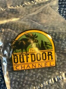 Vintage THE OUTDOOR CHANNEL PIN- Outdoor Sports/Recreation Network- TV - Hat Pin