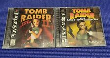 New listing Tomb Raider 2 and Last Revelation Ps1 Video Games W/ Two Guides*Read Description