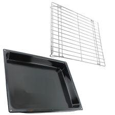 Large Roasting Oven Tray Enamel Base Tin + Shelf Rack for PHILIPS WHIRLPOOL