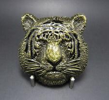 Tigre antique laiton boucle de ceinture Faune boucle de ceinture 533