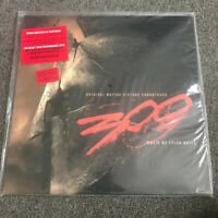 300 OST Tyler Bates Limited Edition, 180 Gram 2LP Warner Bros 101272-1 Sealed!