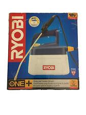 New Ryobi Cordless Home And Garden Sprayer 18-Volt 1.25 Gallon Tank