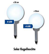 Leuchtkugel Solar 25cm oder 30cm Kugelleuchte Garten Außenleuchte LED Kugellampe