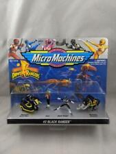 Mighty Morphin Power Rangers Micro Machines #2 Black Ranger