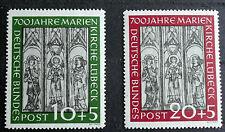 Bund MiNr. 139, 140 Marienkirche **